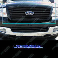 Fits 2004-2008 Ford F-150 Honeycomb Style Upper Black Billet Grille Grill Insert