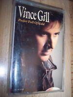 1991 Vince Gill Pocket Full Of Gold Cassette