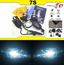 LED Kit 7S 50W 9003 HB2 H4 6000K White Head Light Bulb High Low Beam Replace