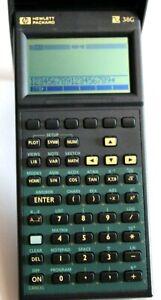 HP Hewlett Packard 38G scientific calculator tested excellent condition
