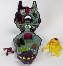 1993 Mighty Max Doom Zones Outwits Cyclops Mini Playset & Accessories