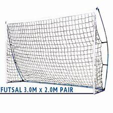 PAIR of ALPHA Gear 3.0m x 2.0m FLEX Portable Goal