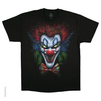 BOW TIE CLOWN-POSSE-EVIL JOKER-BLACK T-SHIRT M-L- XL-2X,3X,4X,5X,6X JUGGALOS,IT