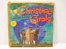 Vintage The Pied Pipers Hollywood Vocal Stars Christmas Carols Vinyl Record