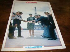 LES CHAMPIONS - Mini poster couleurs JUKEBOX !!!!!!!!!!