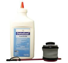 DELTADUST Insecticide with BELLOWS duster COMBO 1lb