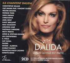 DALIDA - Depuis qu'elle est partie... - 2 CD 2012 MADE IN FRANCE SEALED