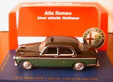 ALFA ROMEO 1900 TI BERLINA TAXI DI MILANO 1953 M4 1/43 EDITION LIMITEE MILAN