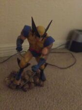 MARVEL X-MEN WOLVERINE on Skulls STATUE Maquette BUST Figure TOY Figurine Movie