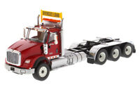 1/50 International HX620 Day Cab Tridem Tractor in Red - Cab Only