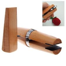 Wood Ring Clamp Jewelers Holder Jewelry Making Professional Hand Tool Benchwork