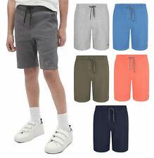 Boys Kids Jersey Shorts Cotton Summer Casual Premium Elastic Waist Beach Summer