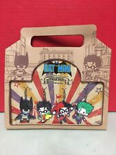 SDCC 2016 Batman Debut Rubber Charm Set Kawaii Series Kotobukiya Joker DC RARE