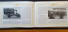 SUPER RARE Advertising Prestige Catalog - 1913 Lange Motor Trucks Pittsburgh PA