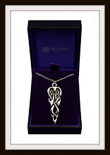 MERLIN'S SPEAR ~ CELTIC PEWTER PENDANT NECKLACE ~ FROM ST. JUSTIN ~ FREE P&P