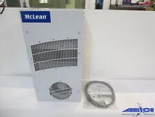 MCLEAN TX23-1448-102 CLIMAGUARD SEALED ENCLOSURE COOLING HEAT EXCHANGER; 48VDC