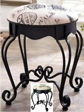VICTORIAN ROYAL PARIS VANITY STOOL, SEAT CHAIR  ** NIB