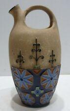 Beau VASE Cruche Pichet en Céramique AMPHORA Tchécoslovaquie