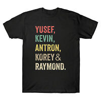 When They See Us Yusef Raymond Korey Antron & Kevin Vintage Men's T Shirt Cotton