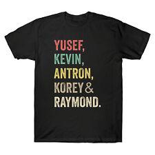 When They See Us Yusef Raymond Korey Antron & Kevin Vintage Men's T Shirt Cotton