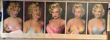 "Vintage Marilyn Monroe Estate 1987 Large Poster 74"" x 26"" Phil Stern!"