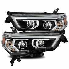 AlphaRex for 14-20 Toyota 4Runner PRO Proj Headlights Black w/ Sequential Signal