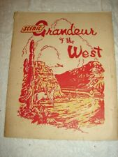 LVRR - Scenic Grandeur of the West 1943 Southern Pacific Lines 16 PRINTS