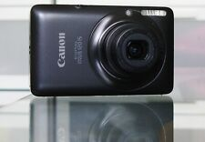 Canon IXUS 120 IS / PowerShot SD940 12MP Digitalkamera + 512MB + Etui - Schwarz
