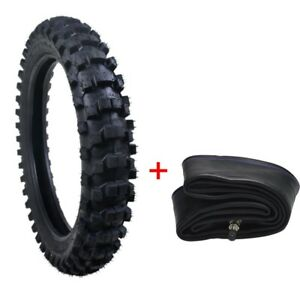 Rear Knobby Tire 90/100-16 Tyre + Tube for Motorcycle Motocross Dirt Pit Bike