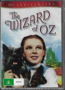 The Wizard Of Oz DVD 2 Disc 75th Ann DVD New and Sealed Australia