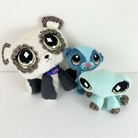 Littlest Pet Shop Small Plush Lot Of 3 Stuffed Animals