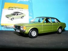 Ford Granada Mk I in Onyx Green  with black  RHD Corgi Vanguards NEW 1:43 rd.