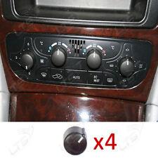 4 X MERCEDES CLASSE C CLIMA ARIA pulsante manopola di controllo W203 C320 C240 C230