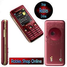 Sony Ericsson Walkman w660i Rose Red (Sans Simlock) 3 G wlakman Quadband bien neuf dans sa boîte