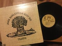 Traffic: John Barleycorn Must Die LP UNITED ARTISTS (2nd Press) 1970 Gate...NICE