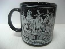 Vtg Far Side Coffee Cup 1984 Old West Caffeine Contest Mug Gary Larson OZ 10oz