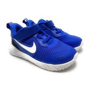 Nike Toddler Revolution 5 Racer Blue White Black Shoes BQ5673-401 Size 8 C (PS)