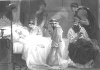 Greece, ATHENS PLAGUE AGE OF GENERAL PERICLES DEATH ~ 1865 Art Print Engraving