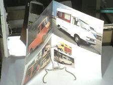 BEAU CATALOGUE CITROEN GAMMES C 35 1975 +forain,pompier,camping car,van,frigo..