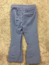 A & N Gray Wool Blend Men M 32 34 R Snow Ski Pants Excellent Stretch