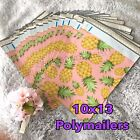100 Designer Printed Poly Mailers 10X13 Shipping Envelopes Bags PINEAPPLES