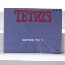 Nintendo NES Manual only - Tetris
