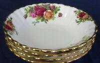 Royal Albert OLD COUNTRY ROSES fruit bowls x4