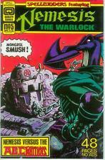 Spellbinders # 5 (Nemesis, Amadeus Wolf, Slaine,52 pg.)(Quality Comics USA,1987)