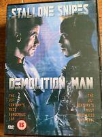Demolition Man DVD 1993 Sylvester Stallone Sci-Di Action Film Classico