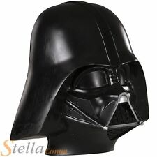 Darth Vader Star Wars 3/4 Face Mask Helmet Halloween Fancy Dress Costume