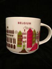 Starbucks Belgium YAH Mug Waffles Fries Mannequin Pis Boy Chocolate Coffee New