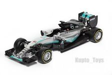 F1 Mercedes Petronas W07 Hybrid, Lewis Hamilton #44, 2016 Season, Bburago 1:43