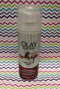Olay Regenerist Cleansing Whip Facial Polishing Creme Cleanser 5 oz Anti-Aging