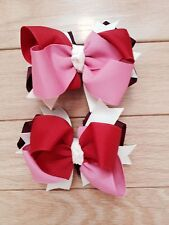Boutique hair bows children's  dance holiday pageant  WOW!